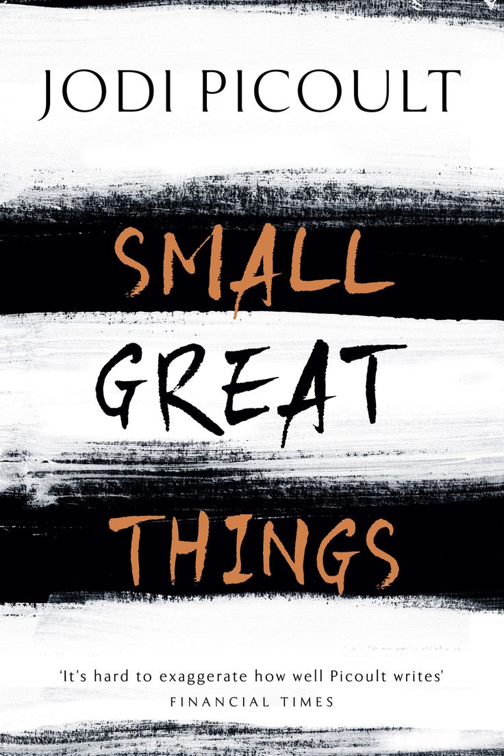 MAY '17 started. Small Great Things - Jodi Picoult. Charity shop purcase, cover caught my eye.