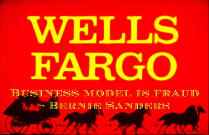 Bernie Sanders Money Quote saying when Wall Street banks fraudulently open fake accounts to inflate stock prices, it is criminal behavior. Bernie Sanders said: Business model of Wall Street is fraud. In my view, there is no better example than the recently-exposed illegal behavior at Wells Fargo— Bernie Sanders Wells Fargo NewsEx-AIG Chief Expected to …