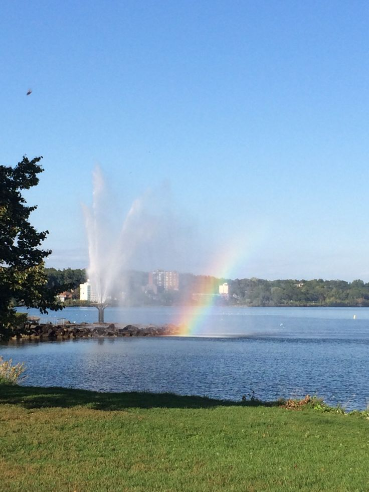 Waterspout, Barrie waterfront