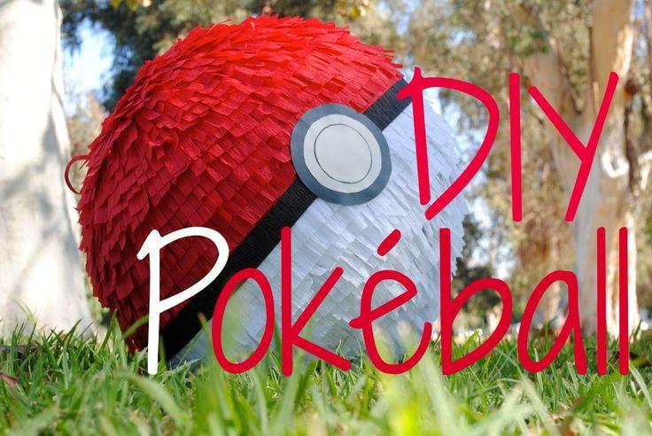 How to Make a Pokéball Piñata! - Pokémon