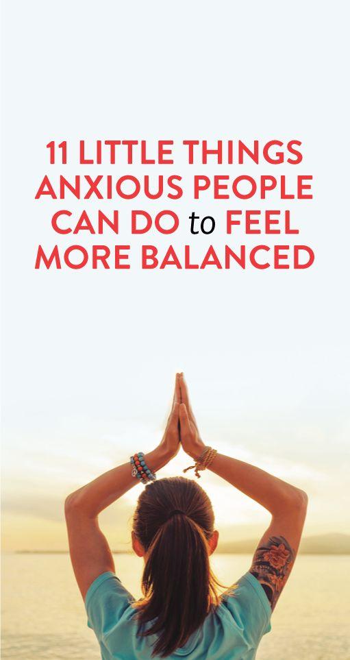 Doable tricks that'll help you feel less anxious #health