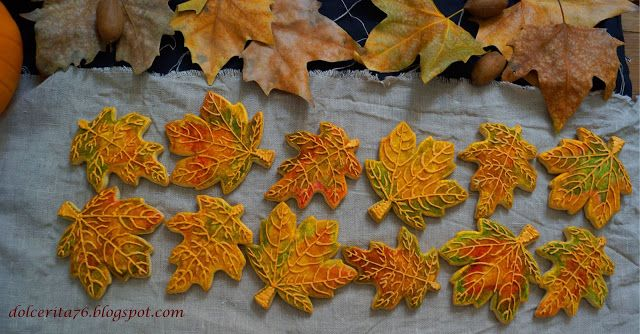 Dolce Rita: Maple and spicy fall cookies!