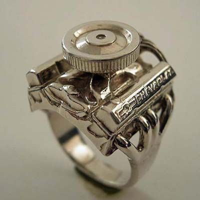 Small Block Chevy Ring... The ring of my dreams