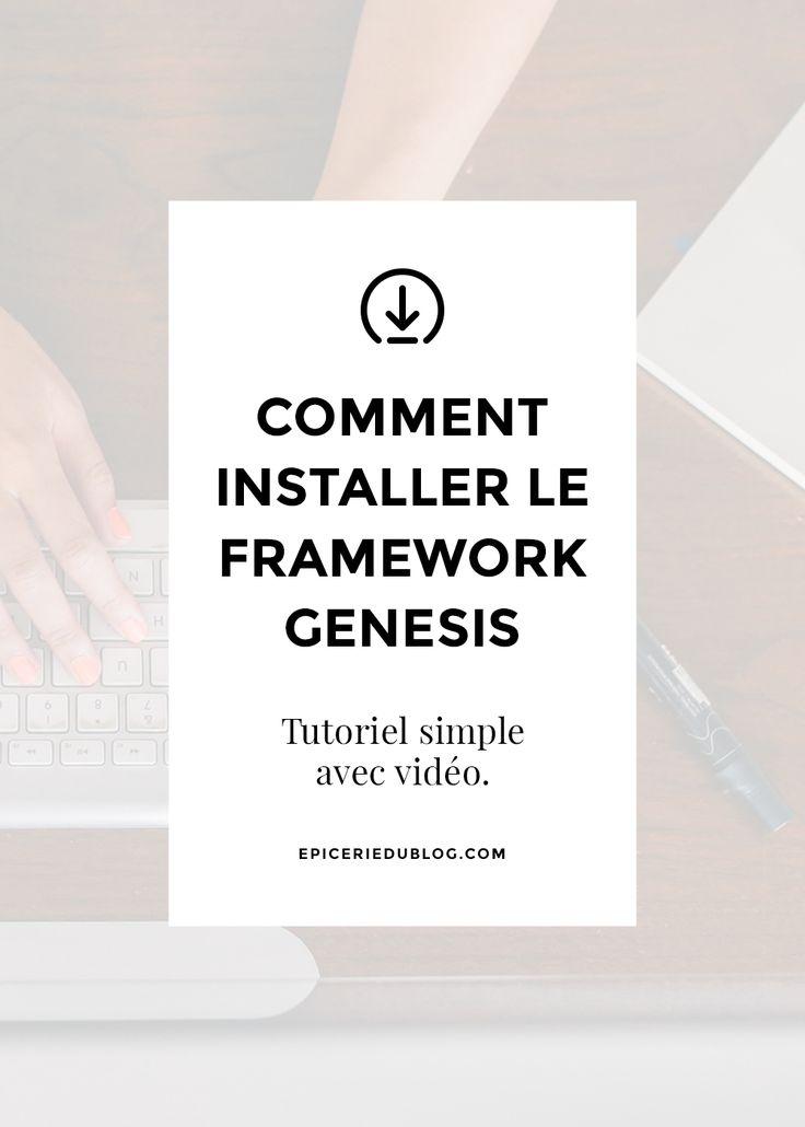 Installer Genesis Framework, le tutoriel (vidéo)