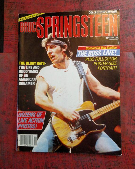 SALE 25% Off Springsteen rare vintage MINT by borntolovebruce