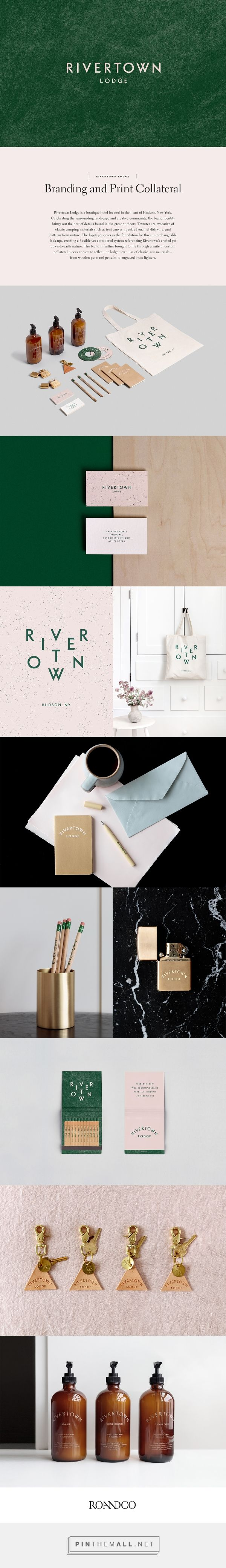 Rivertown Lodge on Behance a grouped