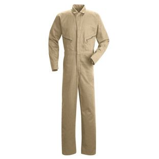Men's Zip-Front Cotton Coveralls - 4 Color Choices - Automotive Workwear