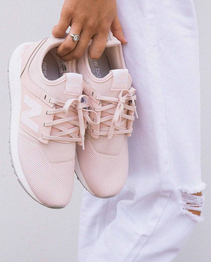 """5,283 Likes, 151 Comments - PRINCESS POLLY ❨✨ (@princesspollyboutique) on Instagram: """" Baby pink kicks for the baby girls, we NEED! Shop the New Balance 247 Classics in the…"""""""