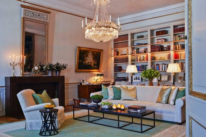 Crown Princess Victoria of Sweden's library! Love it!!