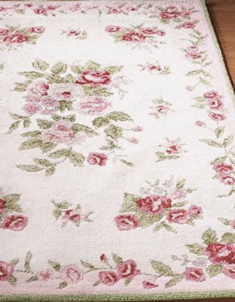 rosy area rug