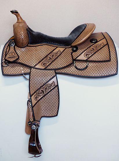 equid.fr, Selles western, sur mesure,selle reining,selle wade . | Gun Reiner spéciale