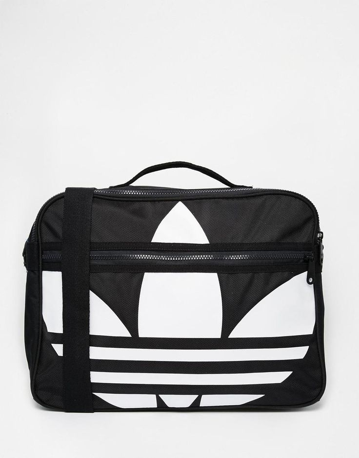 black adidas messenger bag