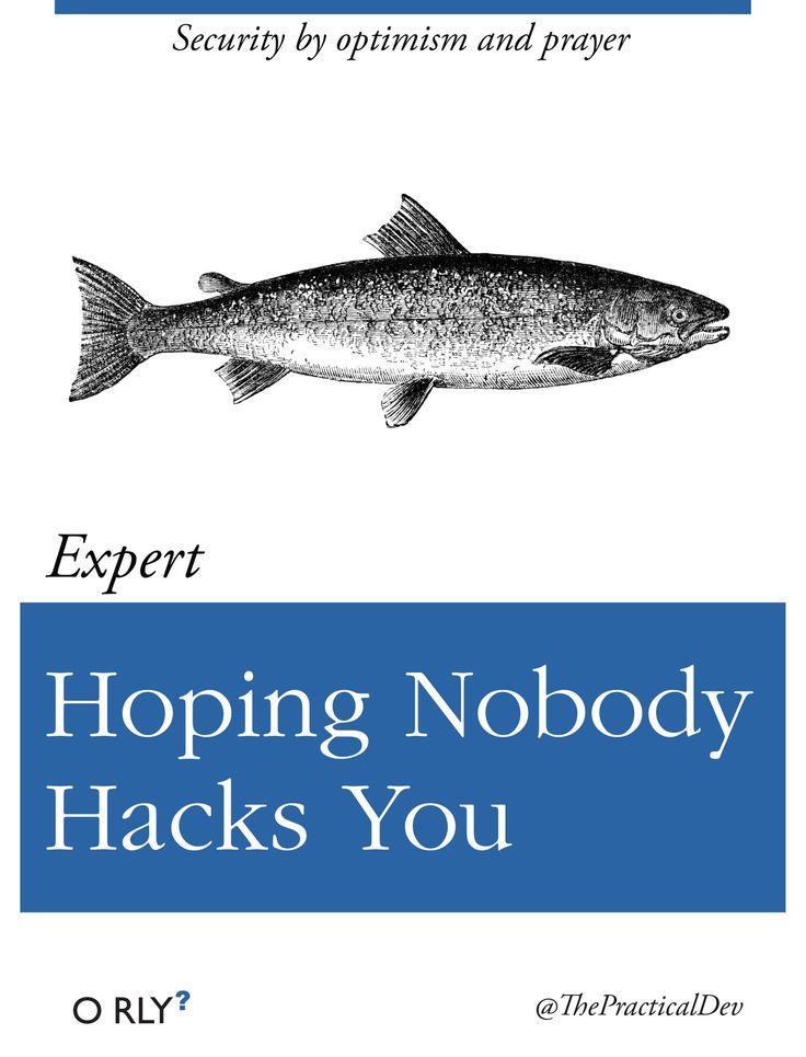 Hoping Nobody Hacks You