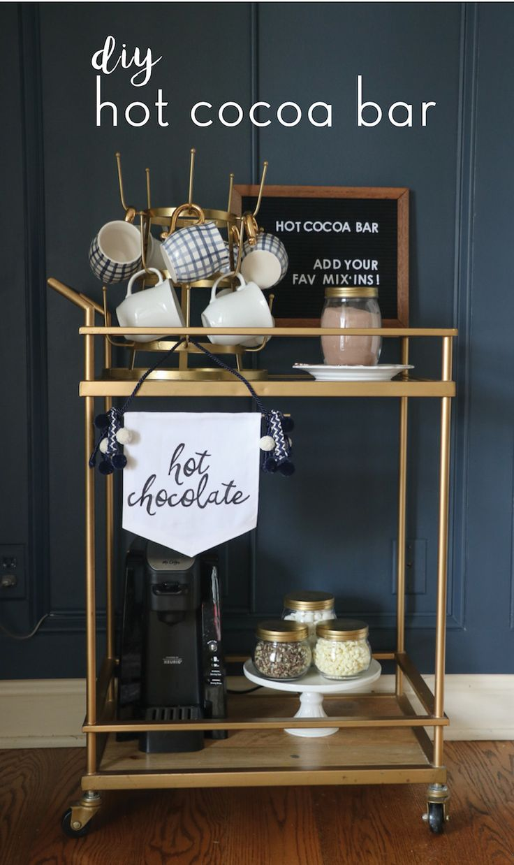 Avalisa letter upper case t stretched wall art - Diy Hot Cocoa Bar