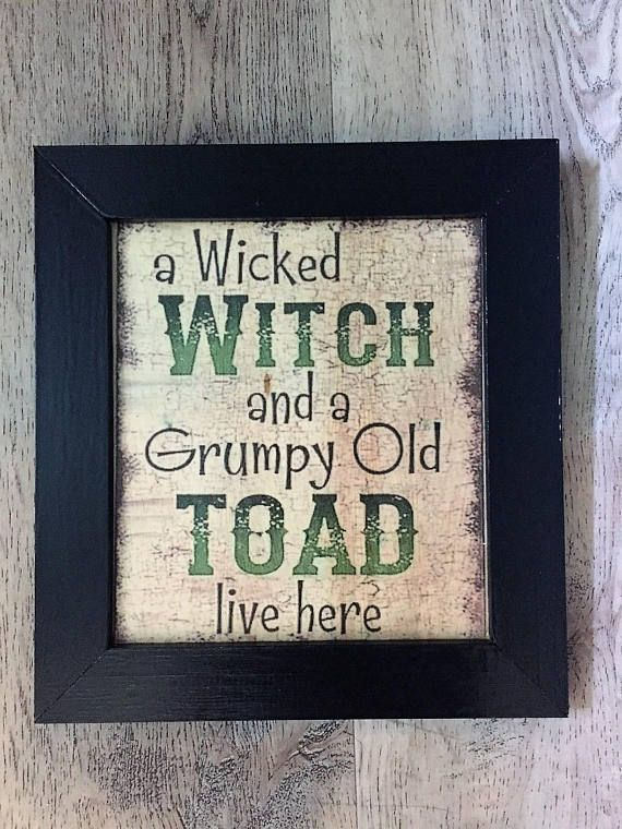 Wicked Witch Sign, Witch, Witch Sign, Halloween Sign, Halloween - halloween decorations haunted house