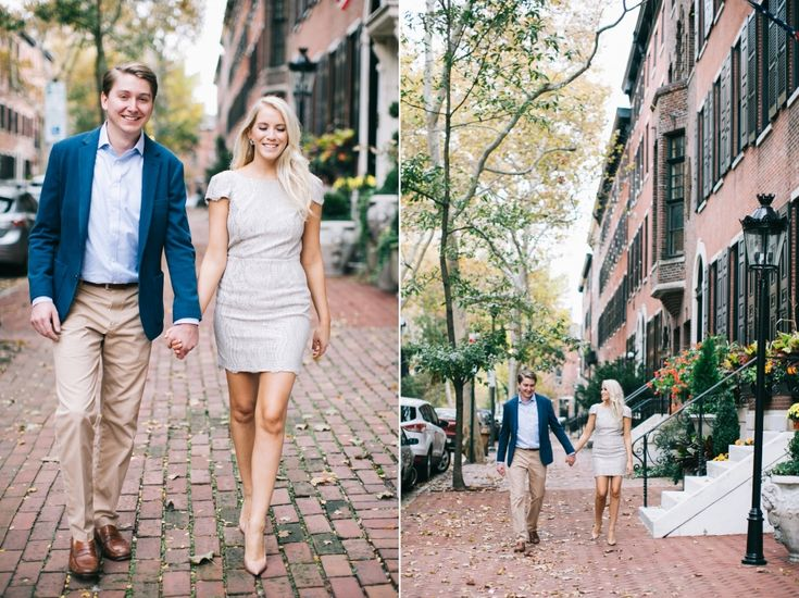 Delancey Street, Philadelphia Autumn Engagement Photos | brittneyraine.com
