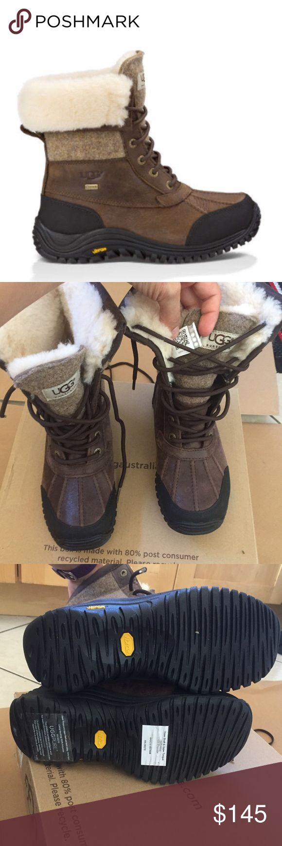 UGG ADIRONDACK II BOOTS Sz 5 new UGG ADIRONDACK II BOOTS Sz 5 new BOX IS MISSING LID 100% AUTHENTIC . Qr reader scannable tag with your smartphone to prove authenticity . Itemcloset#8cin UGG Shoes