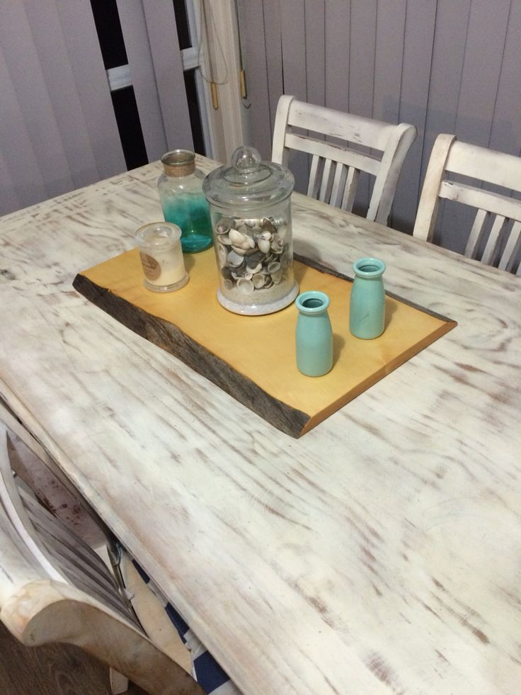 Huon pine slab table board