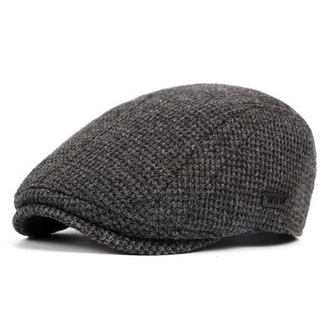 6ec7e148100 Mens Cotton Gatsby Beret Cap Golf Flat Cabbie Hat – menhill