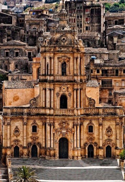 Modica San Giorgio Cathedral, Sicily, Italy