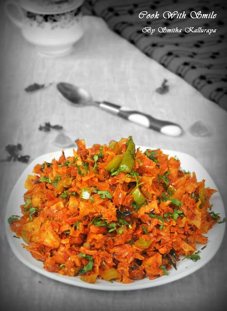 KOTHU PAROTTA RECIPE / VEGETARIAN KOTHU PAROTTA ~ Cook With Smile