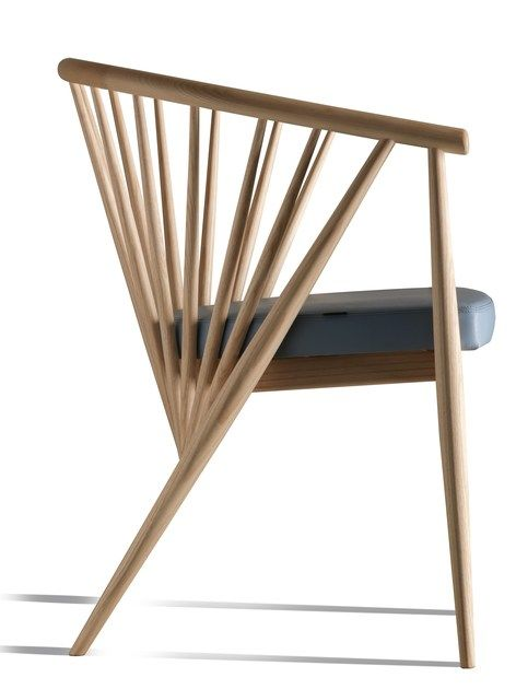 Ash easy chair with Ash easy chair with armrests GENNY | Easy chair by Morelato