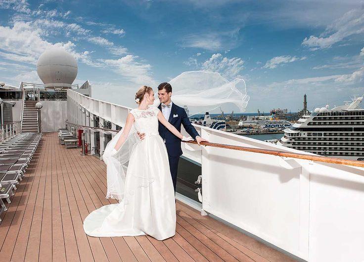 MSC Crociere e Matrimoniexpo potrai trasformare il tuo Matrimonio in un evento indimenticabile a bordo di una splendida e suggestiva nave da crociera.