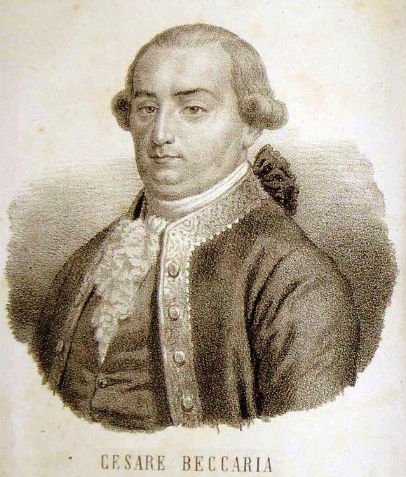 Cesare Beccaria: importante personaggio milanese