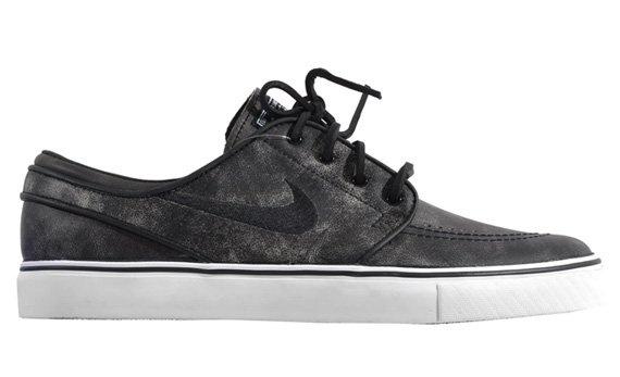 Nike SB Janoski Premium Black / Black White