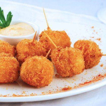 Сырные шарики / Простые рецепты