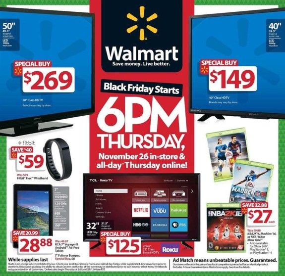 Walmart Black Friday 2015 Ad - Common Sense With Money