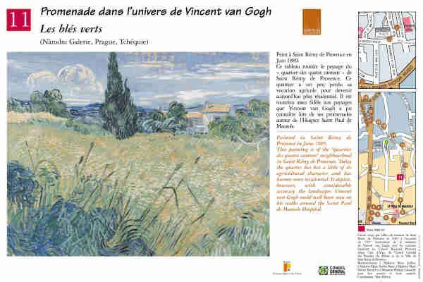 """Les blés verts"" #peinture #provence #vangogh #saintremydeprovence"