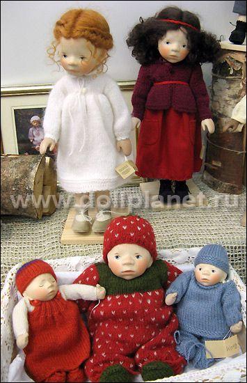 Elisabeth Pongratz деревянные куклы Элизабет Понгратц