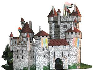 Printouts Paper Castle..French..use translator