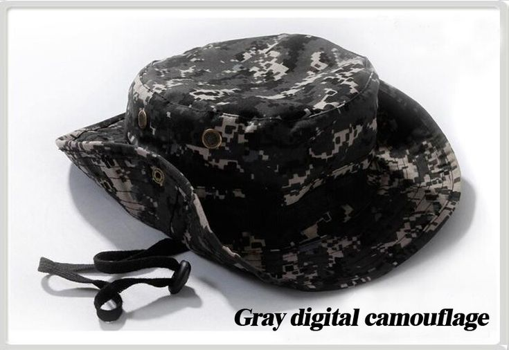 New Fashion Men Camp Caps Army Camouflage summer bucket hats for men