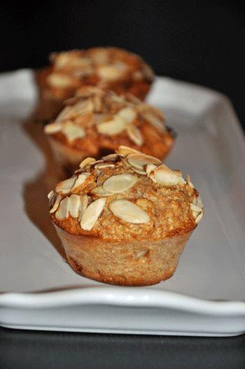Muffins aux Abricots Secs et Amandes (GP/PL)