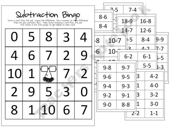39 best Subtraction Activities images on Pinterest