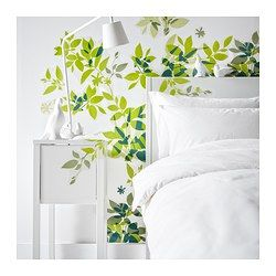ELSABO Decorative stickers - IKEA -- what would this look like against a different colored wall?