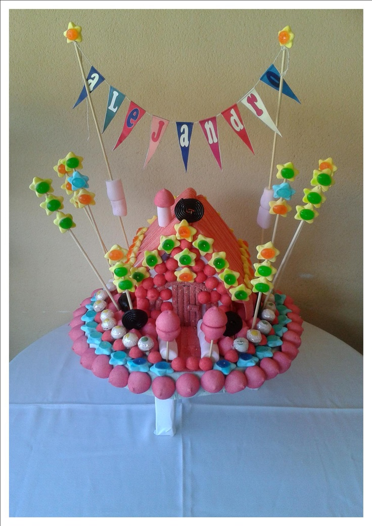 tarta chuches casita