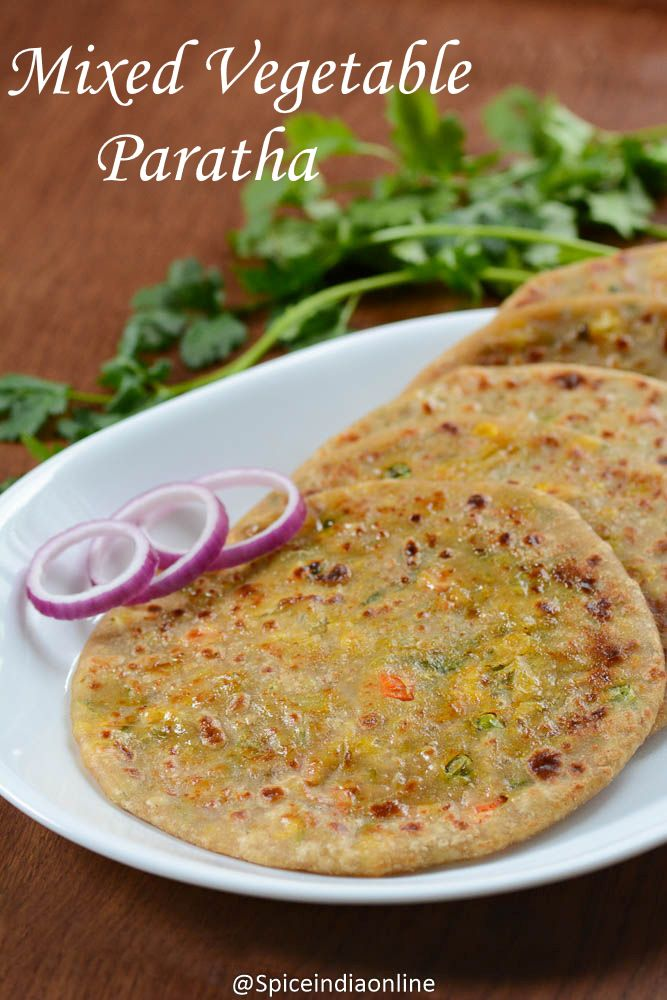 Onion paratha / Pyaaz ka paratha is one of the easiest of all stuffed parathas, all you need is just flour, raw onion and coriander leaves and you will be all ...