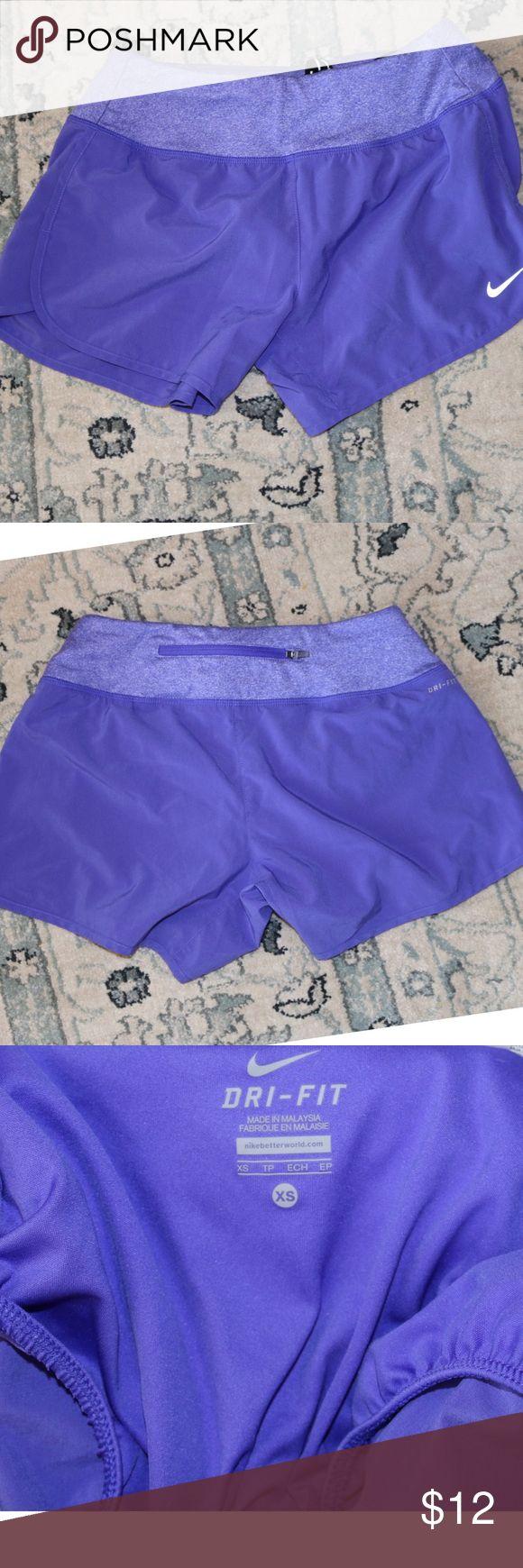 NIKE Dri Fit women's  Purple running shorts XS Nike Dri Fit Running Shorts Purple XS Excellent Condition Nike Shorts
