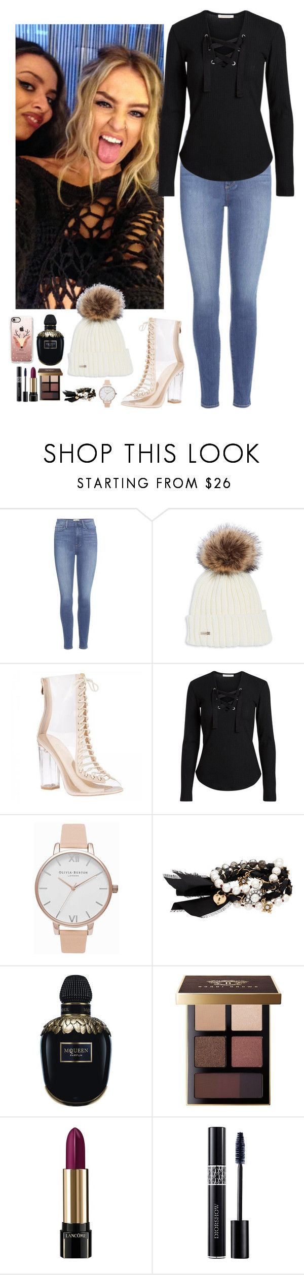"""Perrie Edwards, LM #42"" by ambere3love34 ❤ liked on Polyvore featuring Paige Denim, Olivia Burton, Chloe + Isabel, Alexander McQueen, Bobbi Brown Cosmetics, Lancôme, Christian Dior and Casetify"