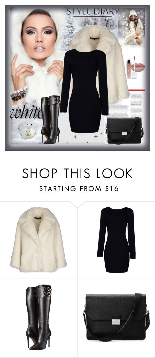 """""""Bye, bye winter"""" by sirena39 ❤ liked on Polyvore featuring American Retro, Versace, Aspinal of London, women's clothing, women, female, woman, misses and juniors"""