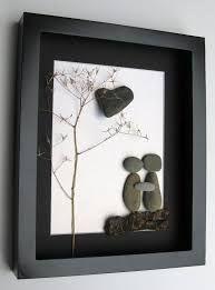 Resultado de imagem para rock art pebble