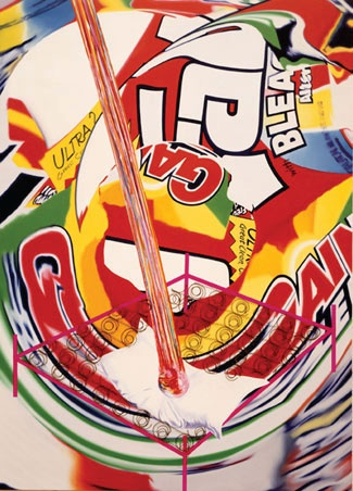 The Meteor Hit the Swimmer's Pillow | James Rosenquist | 1997