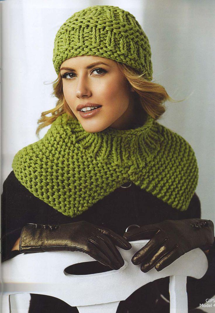 вязаный комплект шапка и шарф для женщин спицами: 20 тыс изображений найдено в Яндекс.Картинках