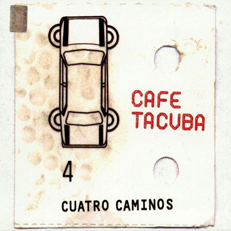 CAFÉ TACVBA. Cuatro Caminos.