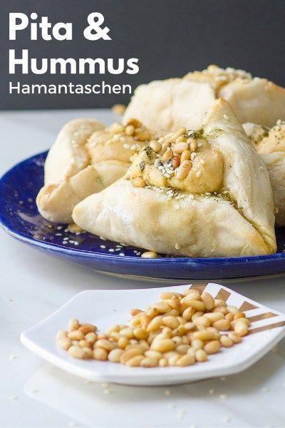 Pita and Hummus Hamantaschen for Purim!