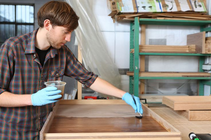 A shellac finish has been used by woodworkers since the early 1800's, is non-toxic, and can be used as a sealer before applying a stain. Learn more.