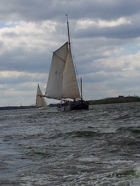 Sailing on Markermeer old and new